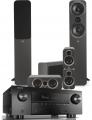Denon AVR-X4500H AV Receiver w/ Q Acoustics 3050i Speaker Package 5.1