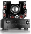 Denon AVR-X3500H AV Receiver w/ Dali Zensor 1 5.1 Speakers