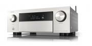 Denon AVC-X4700H Silver 9.2ch 8K AV Amplifier 3D Audio HEOS Built-in Voice Control 4700
