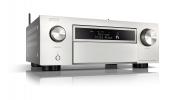 Denon AVC-X6700H Silver 11.2ch 8K AV Amplifier 3D Audio, HEOS Built-in Voice Control