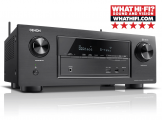 Denon AVR-X2400H 7.2 Channel AV Surround Receiver with HEOS Black