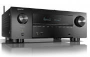 Denon AVC-X3700H Black 9.2ch 8K AV Amplifier with 3D Audio HEOS Built-in Voice Control 3700