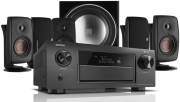 Denon AVR-X6400H AV Receiver w/ Dali Fazon 3 Speaker Package