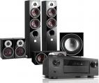 Denon AVR-X6400H AV Receiver w/ Dali Zensor 5 Floorstanding Speaker Package