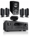 Denon AVR-X3400H AV Receiver w/ Q Acoustics Q7000i PLUS Speaker Package 5.1