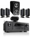 Denon AVR-X3500H AV Receiver w/ Q Acoustics Q7000i PLUS Speaker Package 5.1