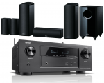 Denon AVR-X2600H AV Receiver w/ Onkyo SKS-HT588 Speaker Package 5.1.2