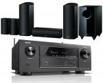 Denon AVR-X2600H AV Receiver w/ Onkyo SKS-HT588 Speaker Package 5.1.2