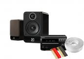 Denon DM40 DAB w/ Q Acoustics 2020i Speakers (RCD-M40)