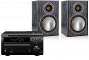 Denon DM40 DAB w/ Monitor Audio Bronze 1 Speakers (RCD-M40)