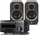 Denon RCD-M41DAB w/ Q Acoustics 3010i Speakers (DM41)