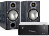 Denon CEOL RCD-N9 w/ Monitor Audio Bronze 2 Speakers