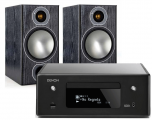 Denon RCD-N10 w/ Monitor Audio Bronze 2 Speakers