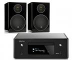 Denon RCD-N10 w/ Monitor Audio Radius 90 Speakers