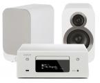 Denon RCD-N10 w/ Q Acoustics 3010i Speakers