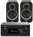 Denon RCD-N10 w/ Q Acoustics 3020i Speakers