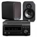 Denon RCD-M41DAB w/ Q Acoustics 3010 Speakers (DM41)