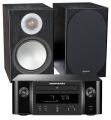 Marantz Melody X MCR612 w/ Monitor Audio Silver 100 Speakers