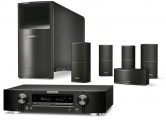 Marantz NR1710 AV Receiver w/ Bose Acoustimass 10 5.1 Speaker Package