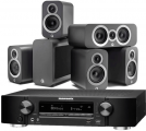 Marantz NR1710 AV Receiver w/ Q Acoustics 3010i 5.1 Speaker Package