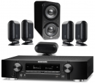 Marantz NR1710 AV Receiver w/ Q Acoustics 7000i PLUS 5.1 Speaker Package