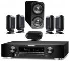 Marantz NR1710 AV Receiver w/ Q Acoustics 7000i PLUS 5.1 Speaker Package