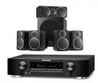 Marantz NR1711 AV Receiver w/ Wharfedale DX-2 5.1 Speaker Package
