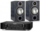 Marantz PM6006 Amplifier w/ Monitor Audio Bronze 2 Speakers