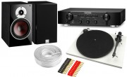 Marantz PM6005 Amplifier & Pro-Ject Essential II w/ Dali Zensor 3 Speakers