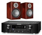 Marantz PM7000N Network Amplifier w/ Monitor Audio Silver 100 Speakers
