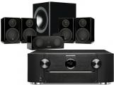 Marantz SR6013 AV Receiver w/ Monitor Audio Radius R90HT1 Speaker Package 5.1