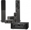 Marantz SR6014 AV Receiver w/ Q Acoustics 3050i 5.1 Speaker Package