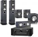 Marantz SR6014 AV Receiver w/ Monitor Audio Bronze 5 5.1 Speaker Package