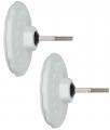 Monitor Audio MASM Wall Brackets (x2) (White)