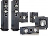 Monitor Audio Bronze 5 AV Package (Open Box, Black Oak)