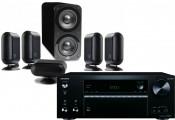 Onkyo TX-NR474 AV Receiver w/ Q Acoustics Q7000i PLUS Speaker Package 5.1