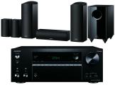 Onkyo TX-NR686 AV Receiver  w/ Onkyo SKS-HT588 Speaker Package 5.1