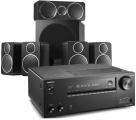 Onkyo TX-NR686 AV Receiver w/ Wharfedale DX-2 5.1 Speaker Package