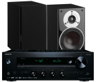 Onkyo TX-8270 Network Stereo Receiver w/ Dali Zensor 1 Speakers