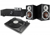 Onkyo A-9010 Integrated Amplifier w/ Dali Spektor 1 Speakers w/ Pro-Ject Primary E