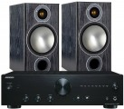 Onkyo A-9010 Amplifier w/ Monitor Audio Bronze 2 Speakers