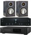 Onkyo A-9010 w/ Onkyo C-N7050 w/ Monitor Audio Bronze 1 Speakers