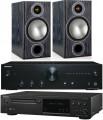 Onkyo A-9010 w/ Onkyo C-N7050 w/ Monitor Audio Bronze 2 Speakers