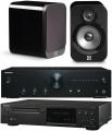 Onkyo A-9010 w/ Onkyo C-N7050 w/ Q Acoustics 3020 Speakers