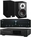 Onkyo A-9010 w/ Onkyo C-N7050 w/ Dali Zensor 3 Speakers