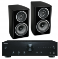 Onkyo A-9010 Integrated Amplifier w/ Wharfedale Diamond 11.2 Speakers