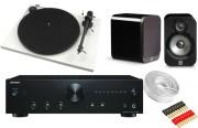 Onkyo A-9010 w/ Pro-Ject Essential II w/ Q Acoustics 3020 Speakers