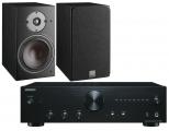 Onkyo A-9010 Amplifier w/ Dali Oberon 1 Speakers