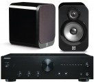 Onkyo A-9010 Amplifier w/ Q Acoustics 3010 Speakers