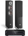 Onkyo A-9110 Amplifier w/ Dali Oberon 5 Speakers
